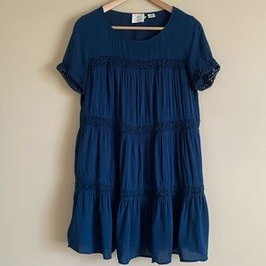 Urban Outfitters Tiered Mini Dress